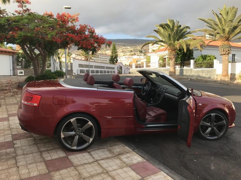 Audi A4 Cabrio Sline B7 2006 137300km