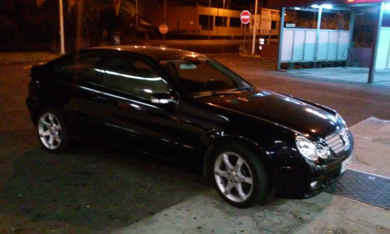 mercedes benz c 220 c220 cdi sport coupe sport edition 2007 179300km. Black Bedroom Furniture Sets. Home Design Ideas