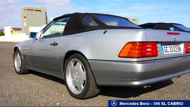mercedes benz clase sl 500 sl cabrio r129 1991 190000km. Black Bedroom Furniture Sets. Home Design Ideas