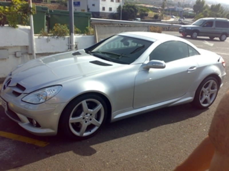 mercedes benz clase slk 350 amg 2005 65000km. Black Bedroom Furniture Sets. Home Design Ideas